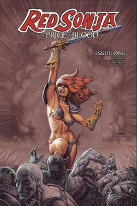 [Red Sonja: Price Of Blood #1 (Cover C Linsner) (Product Image)]