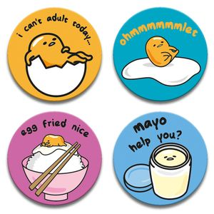 [Gudetama: Badge Set (Product Image)]
