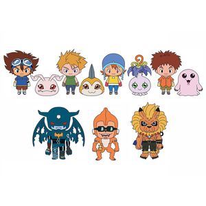 [Digimon: 3D Foam Bag Clips: Series 2 (Product Image)]