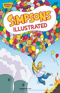 [The cover for Simpsons Illustrated #27]