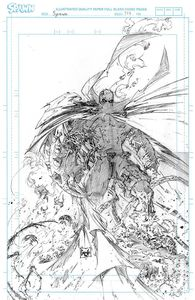 [Spawn #314 (Cover D Capullo Raw Pencils Variant) (Product Image)]