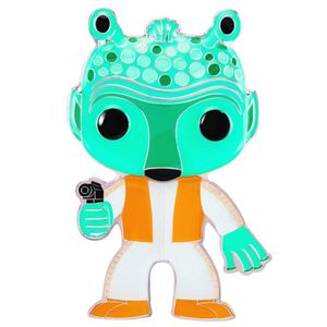 [Star Wars: Loungefly Large Enamel Pop! Pin: Greedo (Product Image)]