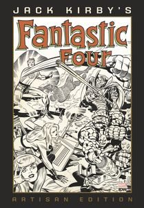 [Jack Kirby: Fantastic Four: Artisan Edition (Hardcover) (Product Image)]