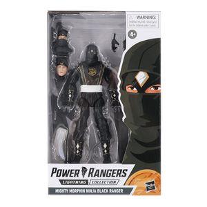 [Mighty Morphin Power Rangers: Lightning Collection Action Figure: Ninja Black Ranger (Product Image)]