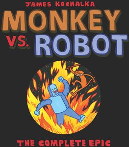 [Monkey Vs Robot: The Complete Epic (Product Image)]
