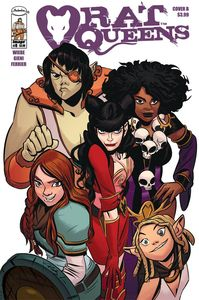 [Rat Queens #8 (Cover B Lee) (Product Image)]