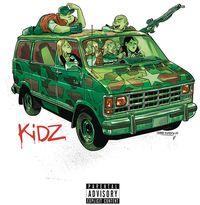 [The cover for Kidz #5 (Cover A Cristobol Gorillaz Album Parody)]