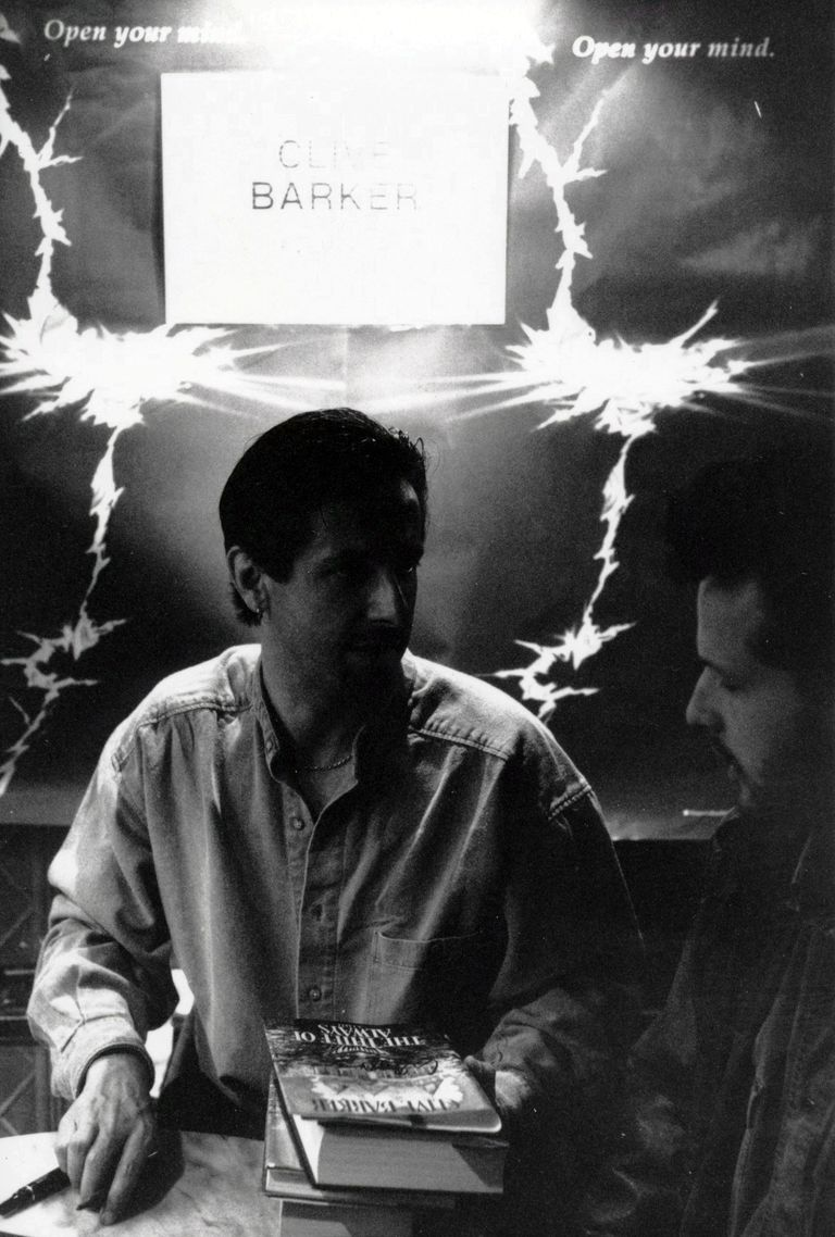 Clive Barker and Jeff Noon