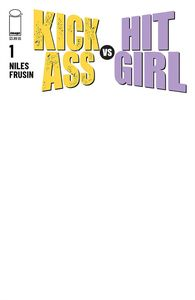 [Kick-Ass Vs Hit-Girl #1 (Cover E Blank Sketch Variant) (Product Image)]
