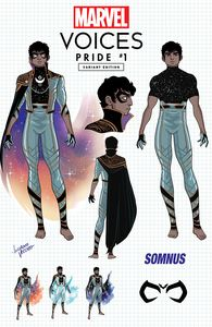 [Marvels Voices: Pride #1 (Exclusive 'Somnus Design' Variant) (Product Image)]