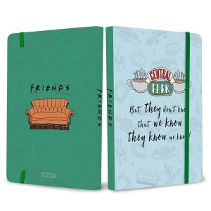 [Friends: Central Perk Softcover Notebook (Product Image)]