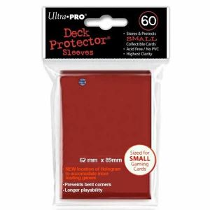 [Ultra Pro: Deck Protector Sleeves: Small Red (Product Image)]