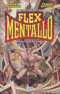 [Flex Mentallo: Man Of Muscle Mystery Deluxe (Hardcover) (Product Image)]