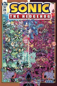 [Sonic The Hedgehog #24 (Cover A Gray & Graham) (Product Image)]