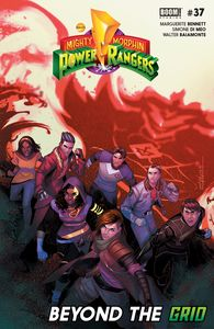 [Mighty Morphin Power Rangers #37 (Main) (Product Image)]