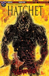 [Hatchet: Vengeance #3 (Mandir Swamp Kill Cover) (Product Image)]