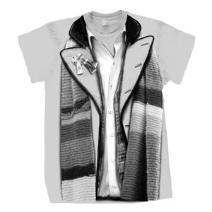 [Doctor Who: T-Shirts: 4th Doctor Costume (City Of Death Variant) (Product Image)]