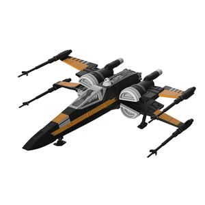 [Star Wars: The Last Jedi: Build & Play Model Kit: Poes Boosted X-Wing Fighter (Product Image)]