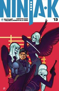 [Ninja-K #13 (Cover B - Kalvachev) (Product Image)]