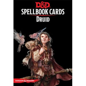 [Dungeons & Dragons: Spellbook Cards: Druid (Product Image)]