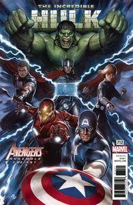 [Incredible Hulk #712 (Granov Avengers Variant) (Legacy) (Product Image)]