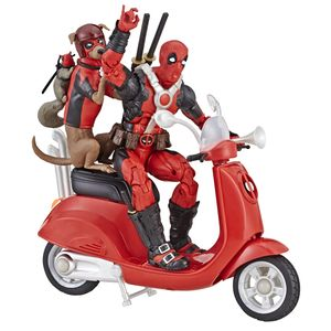 [Marvel Legends Vehicle: Deadpool With Scooter (Product Image)]