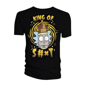 [Rick & Morty: T-Shirt: King Of Shit (Product Image)]