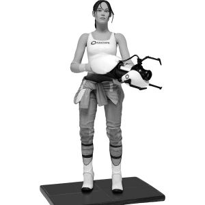 [Portal: Action Figure: Chell With Light Up ASHPD Accessory (Product Image)]