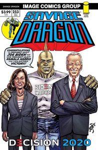 [Savage Dragon #253 (2nd Printing Biden Harris) (Product Image)]