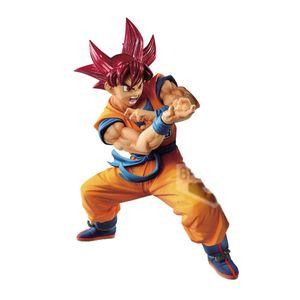 [Dragon Ball Super: Blood Of Saiyans Statue: Special IV SS God Son Goku (Product Image)]