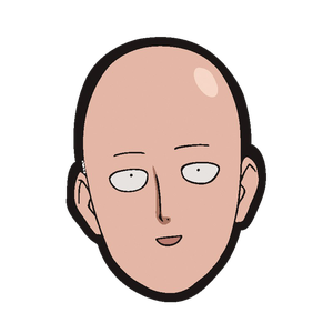 [One Punch Man: Mousepad: Saitama Head (Product Image)]