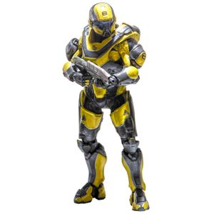 [Halo 5: Guardians: Series 1 Action Figures: Spartan Athlon Gold & Steel (Product Image)]
