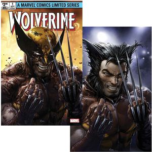 [Wolverine By Claremont & Miller #1 (Facsimile Edition Clayton Crain Variant Set) (Product Image)]