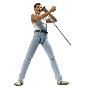 [Queen: SH Figuarts Action Figure: Freddie Mercury (Live Aid Version) (Product Image)]