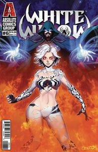 [White Widow #6 (Cover C Genzoman Wraparound Lenticular) (Product Image)]