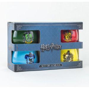 [Harry Potter: Small Mug Set: Crests (Product Image)]
