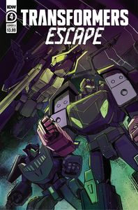 [Transformers: Escape #4 (Cover A Mcguire-Smith) (Product Image)]