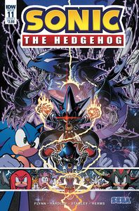 [Sonic The Hedgehog #11 (Cover A Gray) (Product Image)]