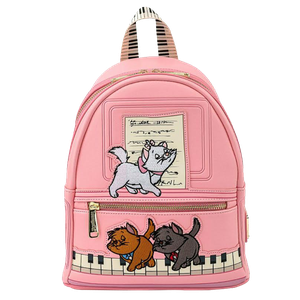 [Loungefly: Mini Backpack: Disney: Aristocats Piano Kitties (Product Image)]