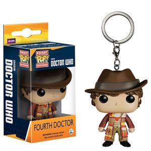 [Doctor Who: Pocket Pop! Vinyl Keychain: 4th Doctor (Product Image)]
