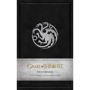 [Game Of Thrones: Ruled Notebook: House Targaryen (Product Image)]