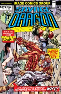 [Savage Dragon #260 (Cover B Retro 70s Trade Dress) (Product Image)]