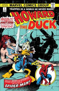 [Howard The Duck #1 (Facsimile Edition) (Product Image)]