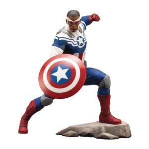 [Avengers: Marvel Comics Series ArtFx+ Statue: Sam Wilson Captain America (Product Image)]
