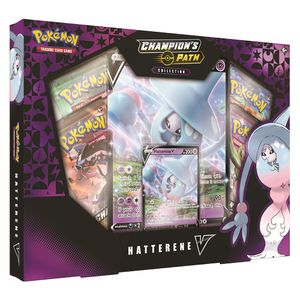 [Pokemon: Trading Card Game: Champions Path: Hatterene V Collection Box (Product Image)]
