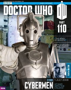 [Doctor Who: Figurine Collection Magazine #110 Cybus Cyberman (Product Image)]