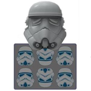 [Star Wars: Ice Cube Tray: Stormtroopers (Product Image)]