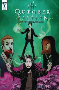 [October Faction: Supernatural Dreams #1 (Cover B Worm) (Product Image)]