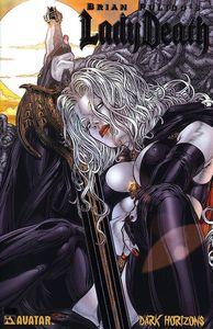 [Lady Death: Dark Horizons (Platinum Foil Variant) (Product Image)]