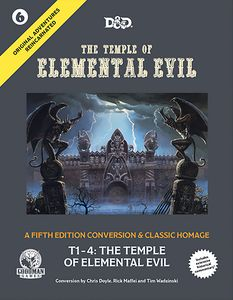 [Dungeons & Dragons: The Temple Of Elemental Evil: RPG Rulebook (5th Edition) (Product Image)]